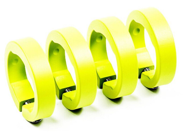 Sixpack Spare clamping rings, neon yellow